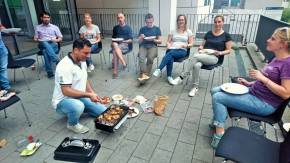 well deserved barbeque