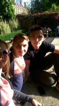 Esther, Sandra & Kristiano